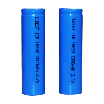 Lithium Ion Battery ICR18500 / Li-Ion / 3.7V